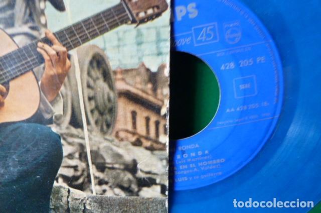 Discos de vinilo: jose luis y su guitarra -mi ronda -y 3 mas vinilo azul - Foto 2 - 95892659