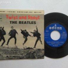 Discos de vinilo: THE BEATLES TWIST AND SHOUT, ODEON, . Lote 95893499