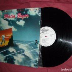 Discos de vinilo: MATIA BAZAR - EL TIEMPO DEL SOL / IL TEMPO DEL SOLE - LP - EPIC 1981 SPAIN - PROMOCIONAL. Lote 95893527