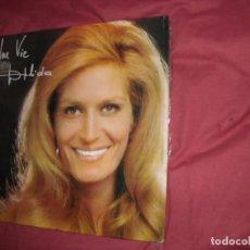Discos de vinilo: DALIDA LP UNA VIE - PORTADA DOBLE - EDICION ESP- POPLANDIA 1974. Lote 95895419