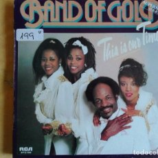 Discos de vinilo: MAXI - BAND OF GOLD - THIS IS OUR TIME / NEVER GONNA LET YOU GO (PROMO ESPAÑOL, RCA 1985). Lote 95896035