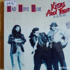Discos de vinilo: MAXI - BAD BOYS BLUE - KISSES AND TEARS / INSTRUMENTAL VERSION (PROMO ESPAÑOL, ZAFIRO 1986). Lote 95896267