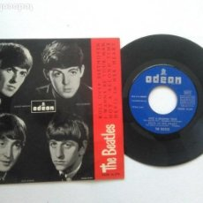 Discos de vinilo: THE BEATLES ROLL OVER BEETHOVEN + 3 EP 1964. Lote 95896331