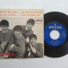 Discos de vinilo: THE BEATLES IT WON'T BE LONG + 3EP AÑO 1964. Lote 95897359
