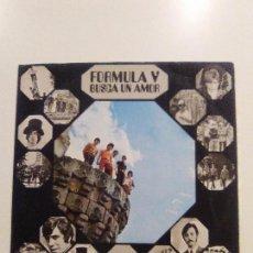 Discos de vinilo: FORMULA V BUSCA UN AMOR ( 1969 PHILIPS ESPAÑA ) BUEN ESTADO GENERAL CARPETA DOBLE GATEFOLD. Lote 95901375