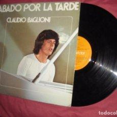 Discos de vinilo: CLAUDIO BAGLIONI, SÁBADO POR LA TARDE - EN ESPAÑOL - LP ORIGINAL ESP 1975. Lote 95901935