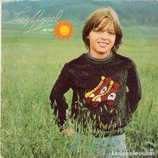 Discos de vinilo: LUIS MIGUEL - UN SOL - SINGLE SPAIN 1982. Lote 95903819
