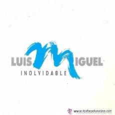 Discos de vinilo: LUIS MIGUEL-INOLVIDABLE + INOLVIDABLE SINGLE WEA 1991 PROMOCIONAL. Lote 95903891