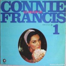 Discos de vinilo: CONNIE FRANCIS: LO MEJOR DE CONNIE FRANCIS 1. Lote 95922115