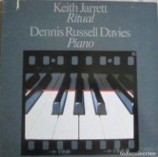 Discos de vinilo: KEITH JARRETT & DENNIS RUSSELL DAVIES: RITUAL. Lote 95922815