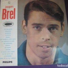 Discos de vinilo: JACQUES BREL LP PHILIPS EDICION FRANCESA - ENREGISTREMENT PUBLIC A L'OLYMPIA - DIRECTO EN EL OLYMPIA. Lote 95924019