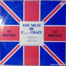Discos de vinilo: SO BRITISH - MAXI SINGLE. Lote 95925723