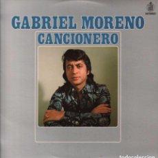 Discos de vinilo: GABRIEL MORENO - CANCIONERO / LP HISPAVOX DE 1976 RF-1284 , PERFECTO ESTADO. Lote 95939519