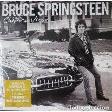 Discos de vinilo: DOBLE LP BRUCE SPRINGSTEEN - CHAPTER AND VERSE / VINILO / EDICION OFICIAL 2016 / NUEVO Y PRECINTADO. Lote 95939551