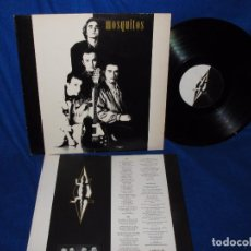 Discos de vinilo: MOSQUITOS - EL CLUB DE LA IGUANA - LP TWINS 1989 - INNER CON LAS LETRAS. Lote 95939719