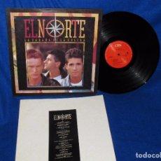 Discos de vinilo: EL NORTE - LA CABAÑA DE LA COLINA - CBS 1988 CON ENCARTE. Lote 95939815
