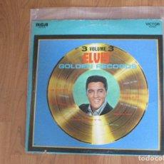 Discos de vinilo: ELVIS PRESLEY - GOLDEN RECORDS VOL.3 - RCA - USA - T - . Lote 95942383