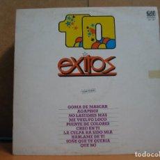 Discos de vinilo: 10 EXITOS - GRAMUSIC GM-881 - 1980. Lote 95943003