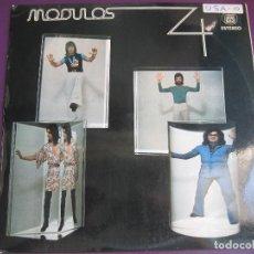 Discos de vinilo: MODULOS 4 LP HISPAVOX 1974 - ROCK PROGRESIVO - ANGELES - PSICODELIA. Lote 95944499