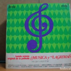 Discos de vinilo: MÚSICA Y LAGRIMAS. THE GLENN MILLER STORY - BANDA SONORA ORIGINAL DE LA PELICULA - CORAL S-21.167. Lote 95945075
