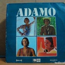 Discos de vinilo: ADAMO - CANTA EN ESPAÑOL - ODEON LCLP 1452 / DISCOLIBRO 8102 - 1968. Lote 95946499