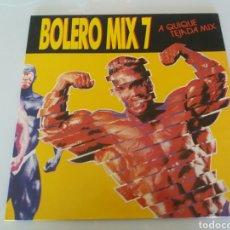 Discos de vinilo: BOLERO MIX 7, A QUIQUE TEJADA MIX. VINILO LP. BLANCO Y NEGRO MUSIC. MXLP-258. 1990. Lote 95946878