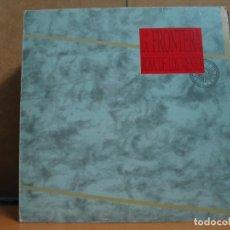 Discos de vinilo: LA FRONTERA - ROSA DE LOS VIENTOS - POLYDOR 839607-1 - 1989. Lote 95948643