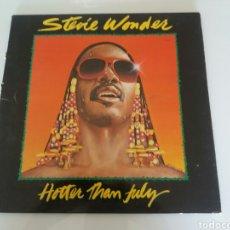 Discos de vinilo: STEVIE WONDER, HOTTER THAN JULY. VINILO LP. MOTOWN 1980. Lote 95949322