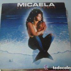 Discos de vinilo: MICAELA - LA ISLA BONITA - MAXI-SINGLE, BLANCO Y NEGRO 1986. Lote 95949747