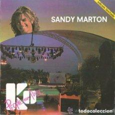 Discos de vinilo: SANDY MARTON, PEOPLE FROM IBIZA, MAXI-SINGLE BLANCO Y NEGRO 1984. Lote 95950039