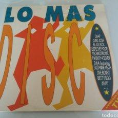 Discos de vinilo: LO + DISCO. VINILO DOBLE LP 1990. ARIOLA BMG. RECOPILATORIO.. Lote 95950624