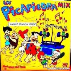 Discos de vinilo: QUIQUE ROCA - LOS PICAPIEDRA MIX - DOBLE LP 1994 . Lote 95951971