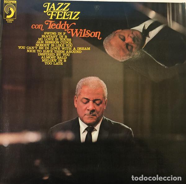 TEDDY WILSON * LP * JAZZ FELIZ CON TEDDY WILSON * DISCOPHON * 1972 (Música - Discos - LP Vinilo - Jazz, Jazz-Rock, Blues y R&B)