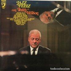Discos de vinilo: TEDDY WILSON * LP * JAZZ FELIZ CON TEDDY WILSON * DISCOPHON * 1972. Lote 26334431