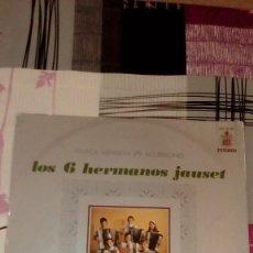 Discos de vinilo: BAL-9 DISCO GRANDE 12 PULGADAS LOS 6 HERMANOS JAUSET. MÚSICA ESPAÑOLA EN ACORDEONES. Lote 95962759