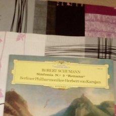Discos de vinilo: BAL-9 DISCO GRANDE 12 PULGADAS ROBERT SCHUMANN SINFONIA N 3 RENANA. Lote 95962911