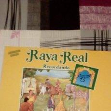 Discos de vinilo: BAL-9 DISCO GRANDE 12 PULGADAS RAYA REAL RECORDANDO. Lote 95963051