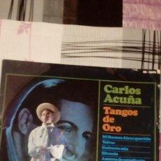 Discos de vinilo: BAL-9 DISCO GRANDE CARLOS ACUÑA TANGOS DE ORO. Lote 95963411