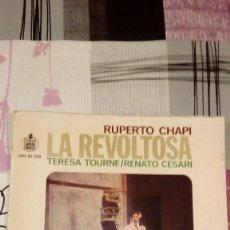 Discos de vinilo: BAL-9 DISCO GRANDE 12 PULGADAS RUPERTO CHAPI LA REVOLTOSA . Lote 95963831