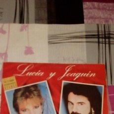 Discos de vinilo: BAL-9 DISCO GRANDE 12 PULGADAS LUCIA Y JOAQUIN PIMPINELA . Lote 95964055