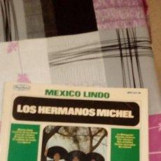 Discos de vinilo: BAL-9 DISCO GRANDE 12 PULGADAS MEXICO LINDO LOS HERMANOS MICHEL. Lote 95964455