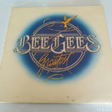 Discos de vinilo: BEE GEES, GREATEST. VINILO DOBLE LP. RSO 1979. Lote 95968498