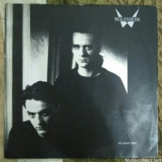Discos de vinilo: WOLFSHEIM- NO HAPPY VIEW LP VINILO. TECHNO SYNTH POP. Lote 95972572