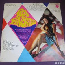 Discos de vinilo: TUS FAVORITOS LP NOVOLA 1967 - BRINCOS - MICKY TONYS - ROSALIA - MASSIEL - TAMARA - RELAMPAGOS . Lote 95972979