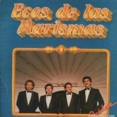 Discos de vinilo: ECOS DE LAS MARISMAS - QUEDATE, JUNTOS HICIMOS EL CAMINO... LP FONOMUSIC DE 1987 ,RF 3817. Lote 95982307