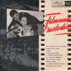 Discos de vinilo: FILMANDO MELODIAS - VARIOS - LP RCA RF- 3819. Lote 95982731