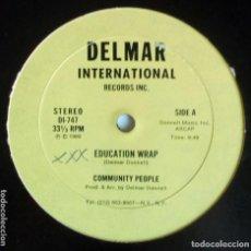 Discos de vinilo: COMMUNITY PEOPLE - EDUCATION WRAP. Lote 95983515