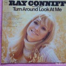 Discos de vinilo: RAY CONNIFF,TURN AROUND LOOK ME EDICION USA. Lote 95983667