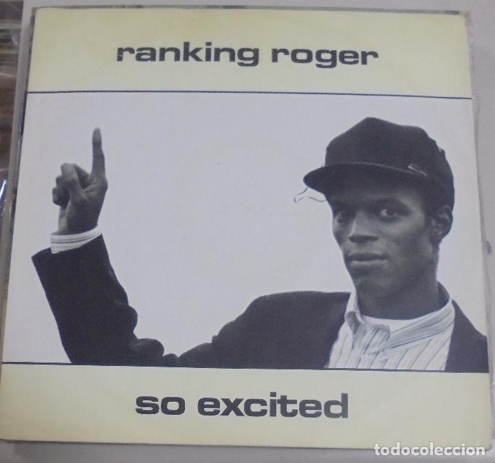 LP. RANKING ROGER. SO EXCITED. 1988. IRS RECORDS (Música - Discos - LP Vinilo - Cantautores Extranjeros)