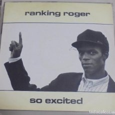 Discos de vinilo: LP. RANKING ROGER. SO EXCITED. 1988. IRS RECORDS. Lote 95983887